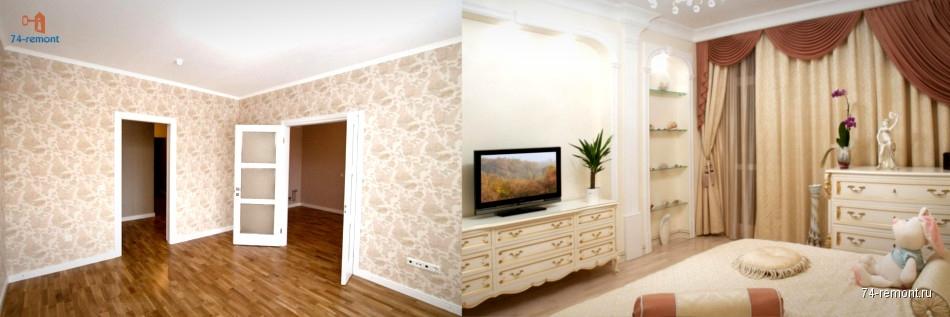 Косметический ремонт квартиры в Челябинске