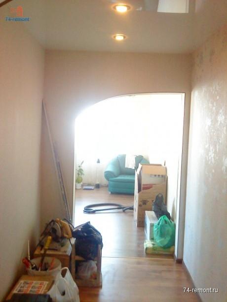 Ремонт санузла и коридора