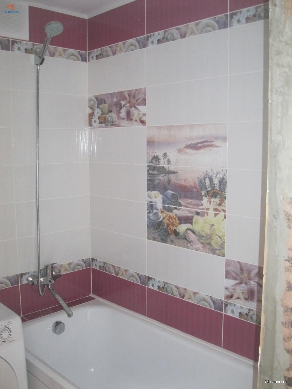 Установка ванной, установка душевого смесителя